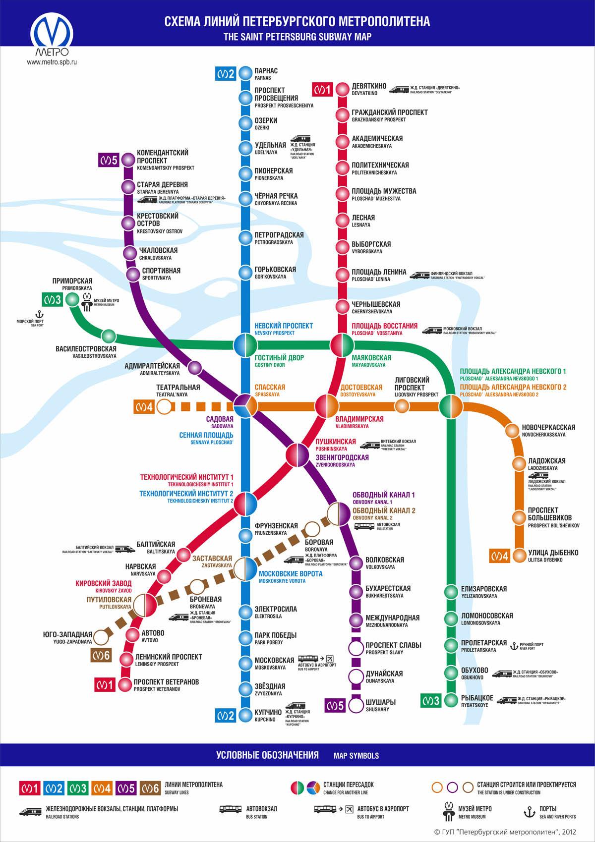 маршрут рыбацкое московское метро